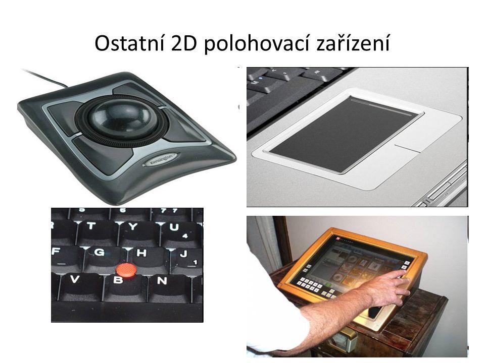 Ostatní 2D polohovací zařízení