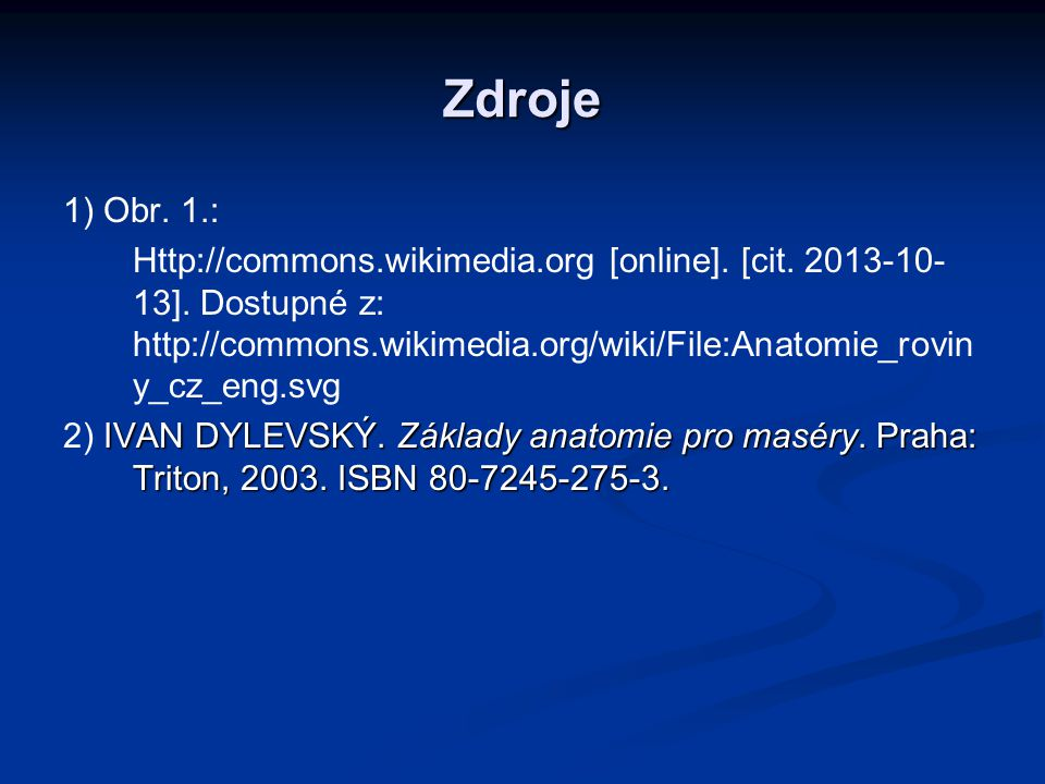 Zdroje 1) Obr. 1.: