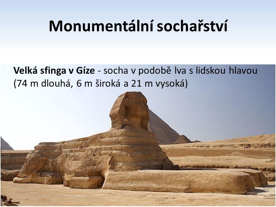 Monumentální sochařství