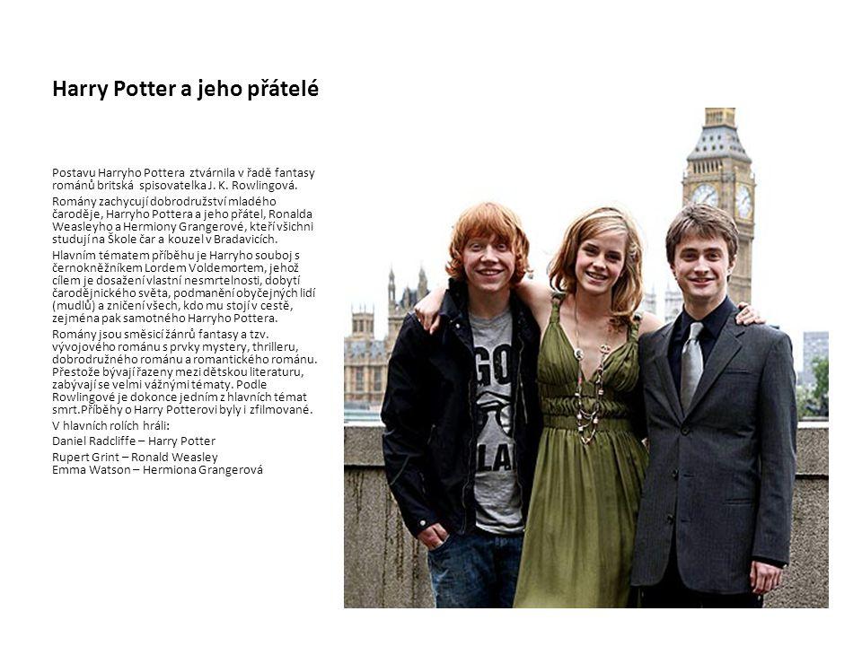 Harry Potter a jeho přátelé