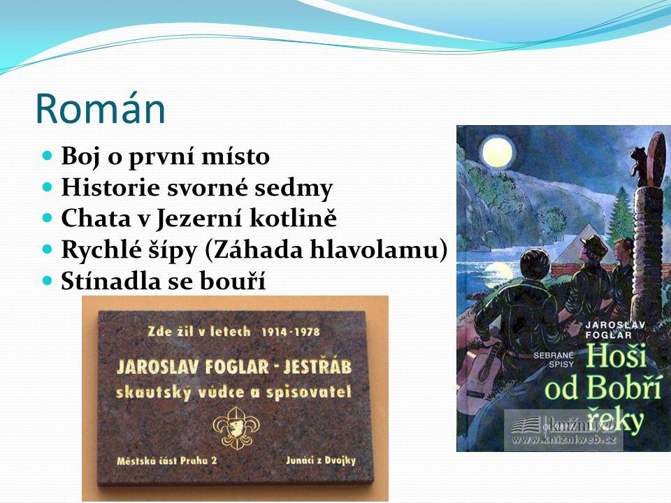 Román Boj o první místo Historie svorné sedmy Chata v Jezerní kotlině