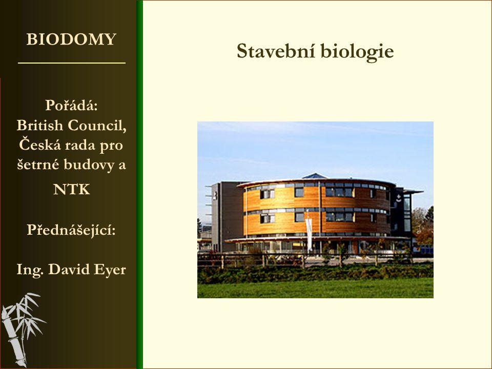 British Council, Česká rada pro šetrné budovy a NTK