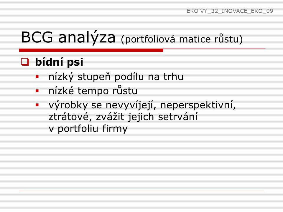 BCG analýza (portfoliová matice růstu)
