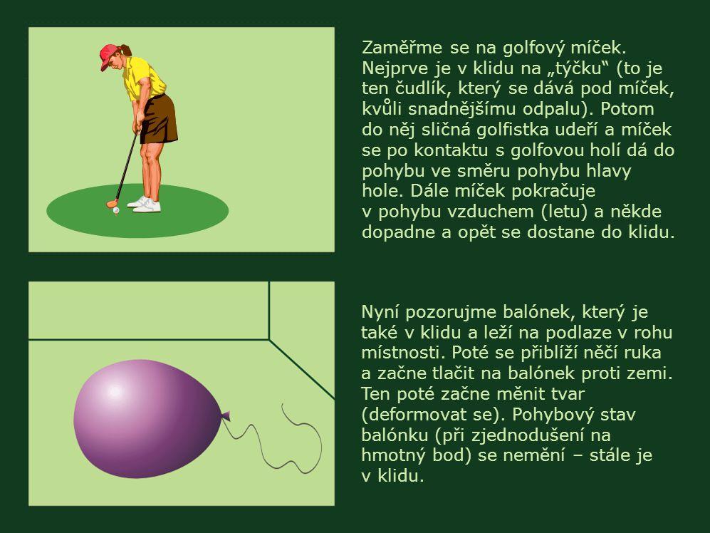 Zaměřme se na golfový míček