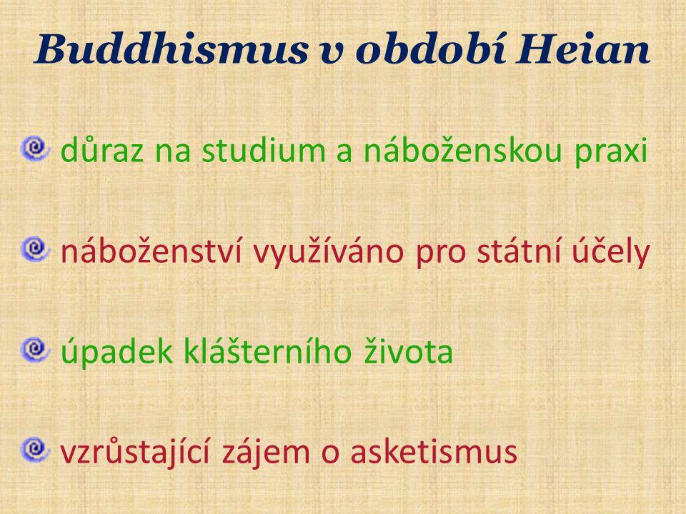 Buddhismus v období Heian