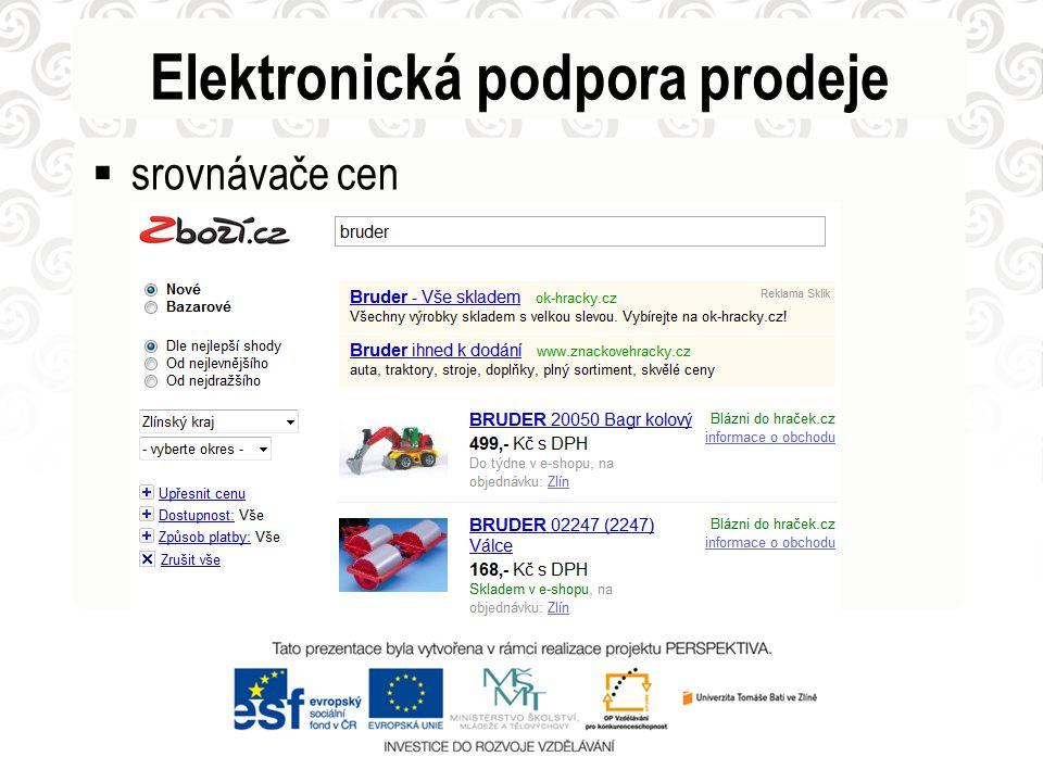 Elektronická podpora prodeje