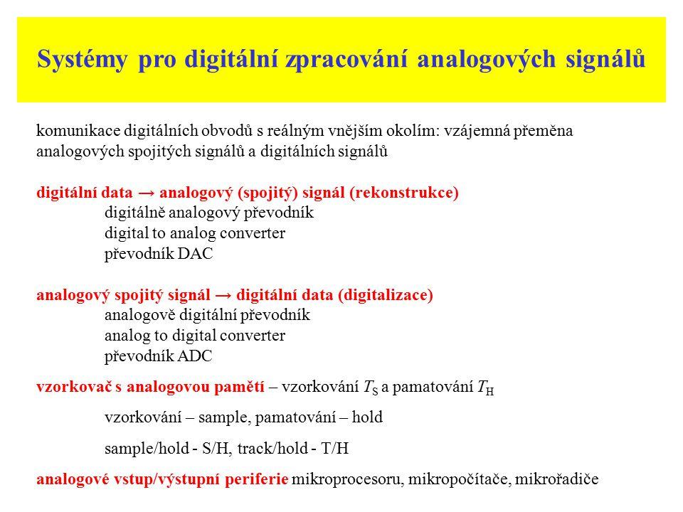 Systémy pro digitální zpracování analogových signálů