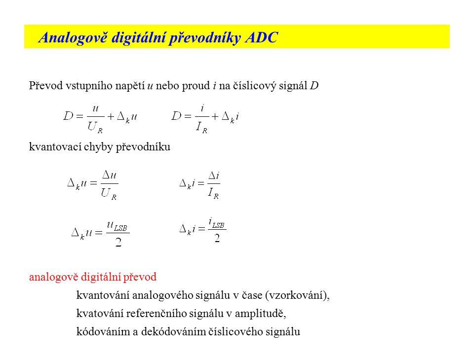 Analogově digitální převodníky ADC
