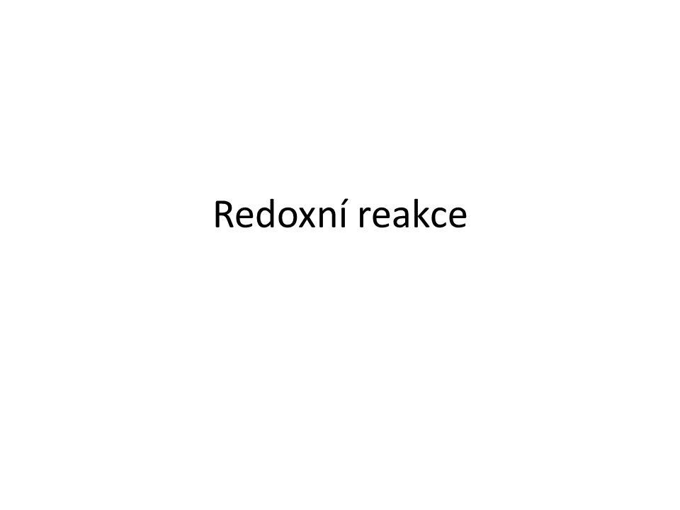 Redoxní reakce 9.A, B 23/5 3-ox.;
