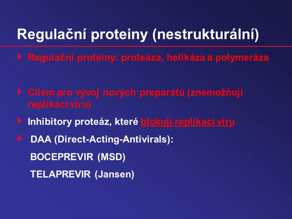 Regulační proteiny (nestrukturální)