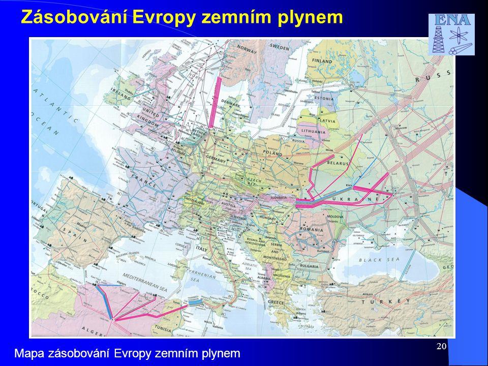 Zásobování Evropy zemním plynem