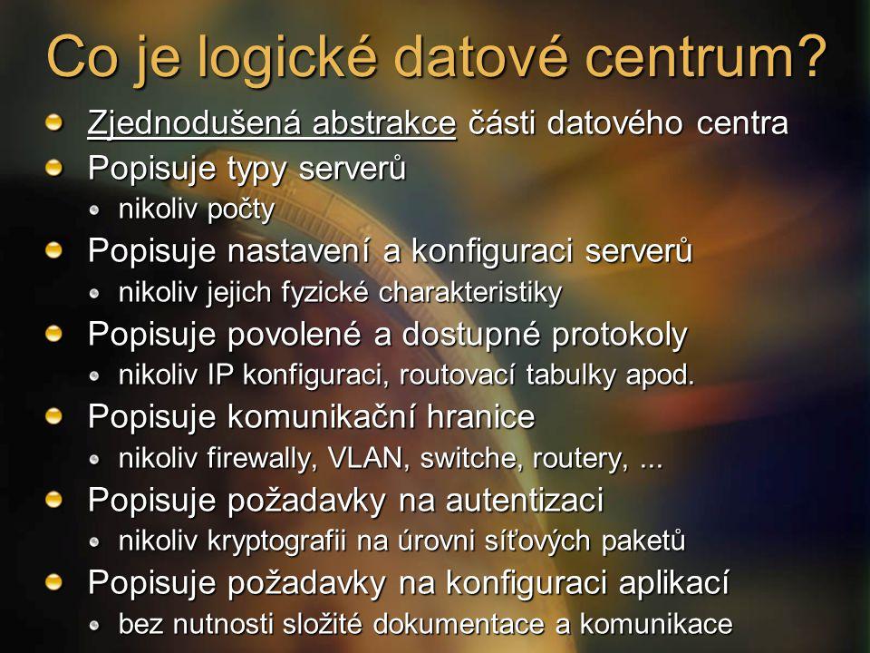 Co je logické datové centrum