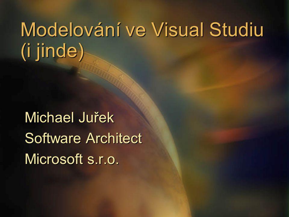 Modelování ve Visual Studiu (i jinde)