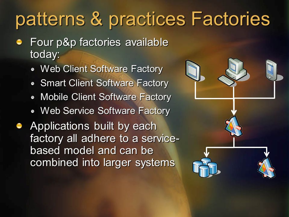 patterns & practices Factories