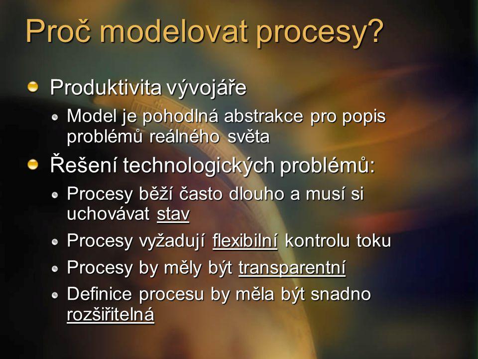 Proč modelovat procesy