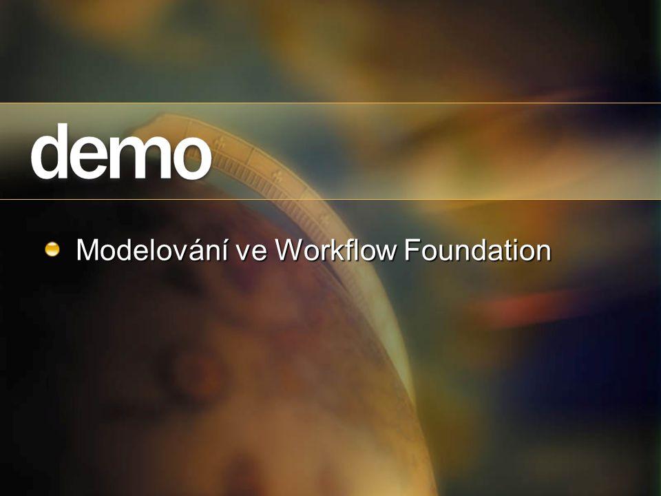 Modelování ve Workflow Foundation