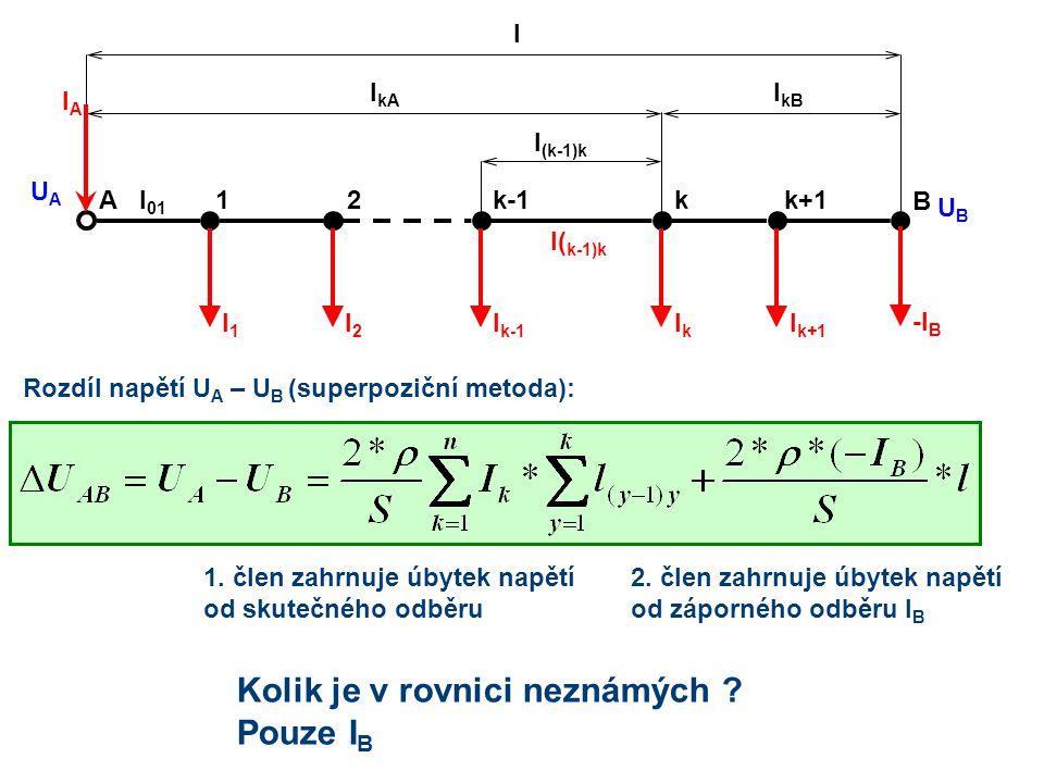 Kolik je v rovnici neznámých Pouze IB