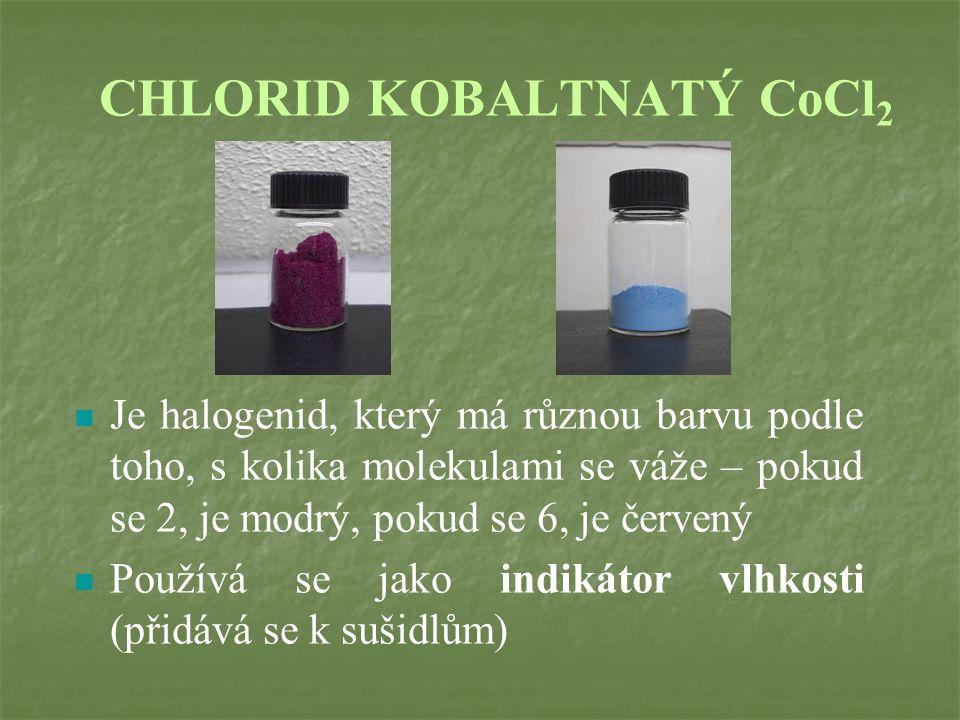 CHLORID KOBALTNATÝ CoCl2