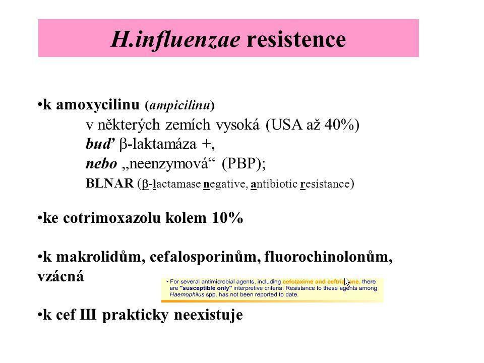 H.influenzae resistence