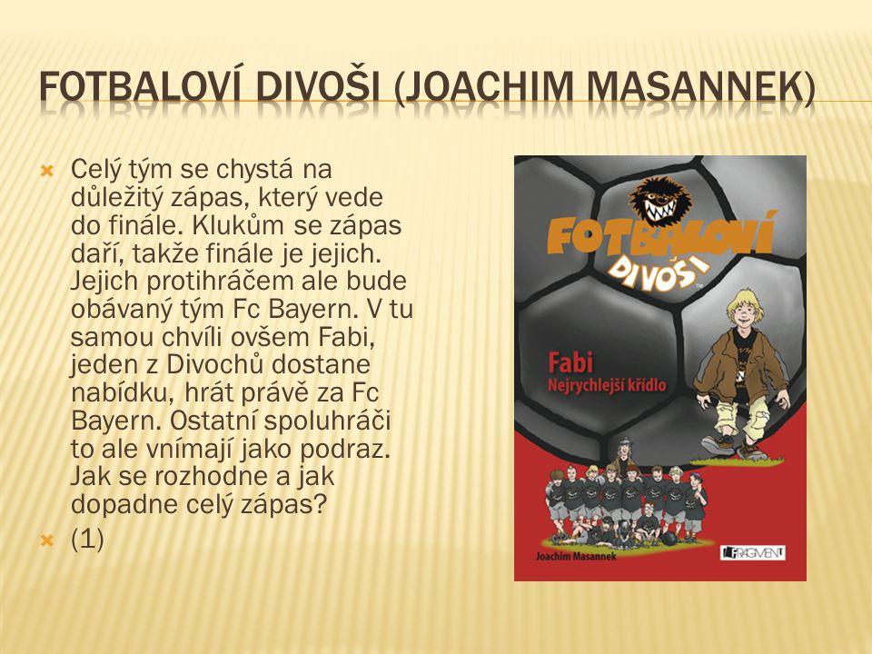 Fotbaloví divoši (Joachim Masannek)