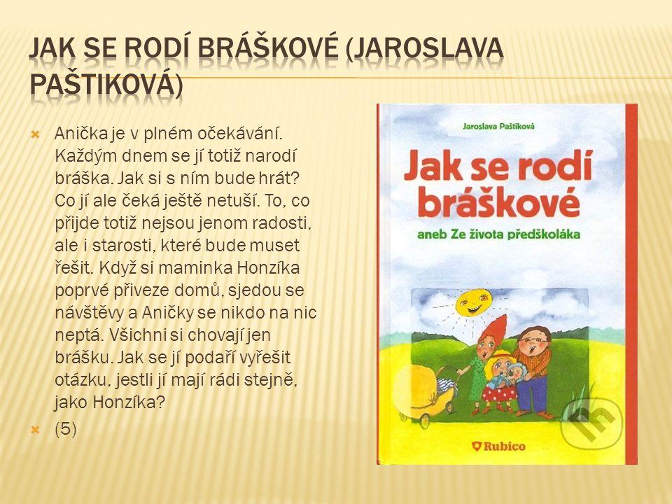 Jak se rodí bráškové (jaroslava Paštiková)