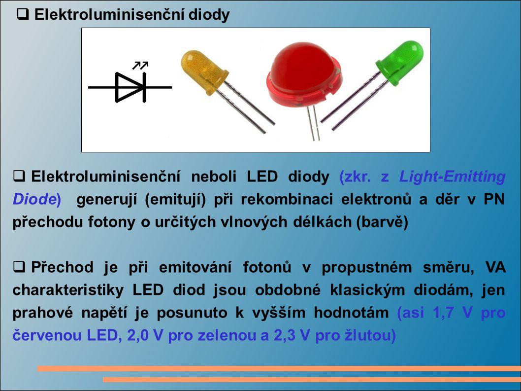 Elektroluminisenční diody