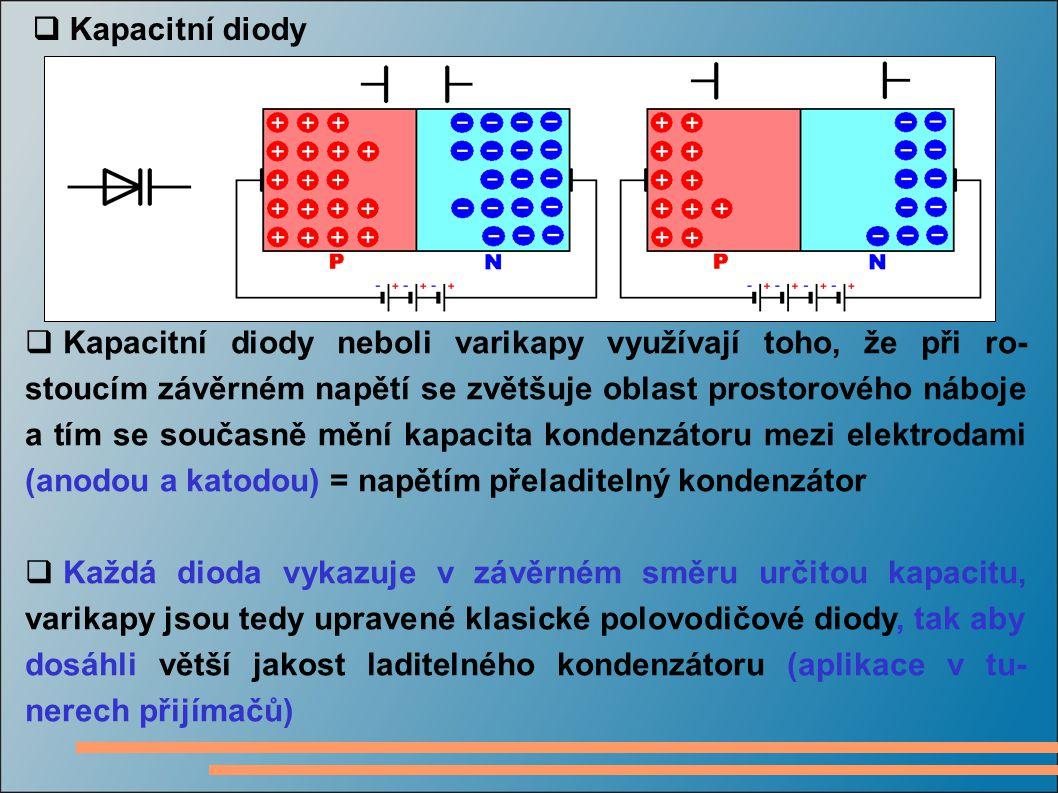  Kapacitní diody