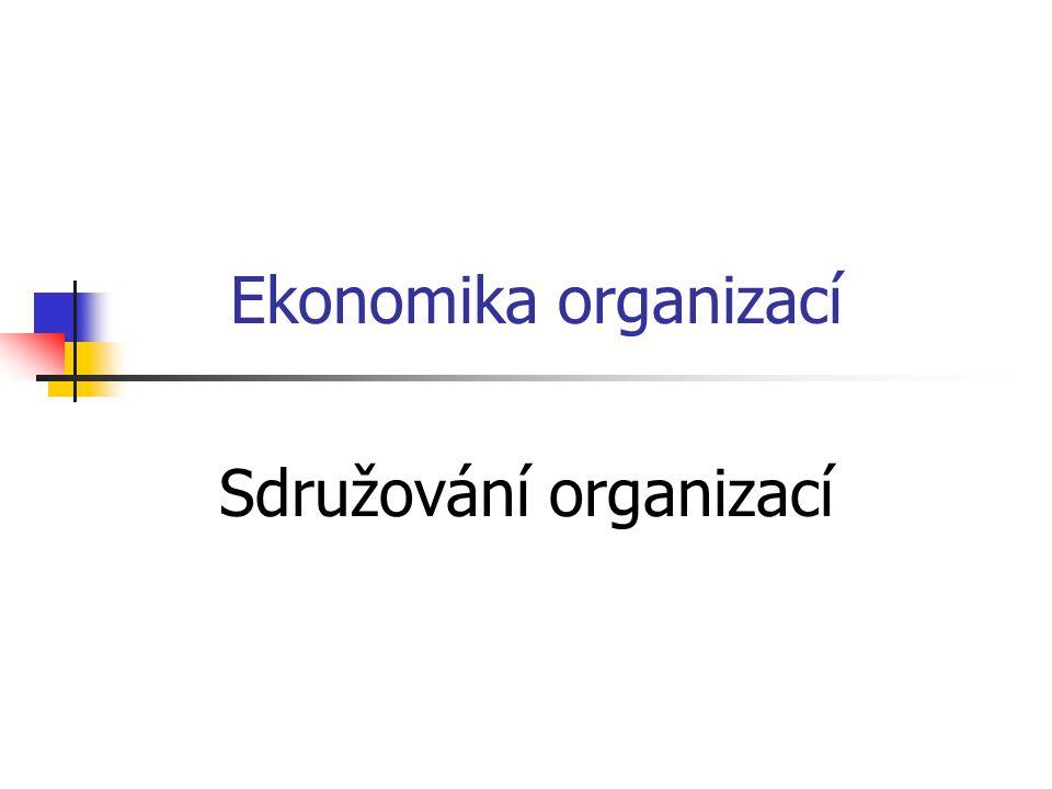 Sdružování organizací