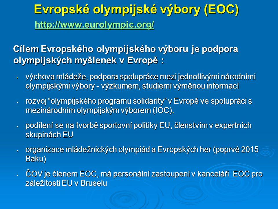 Evropské olympijské výbory (EOC)