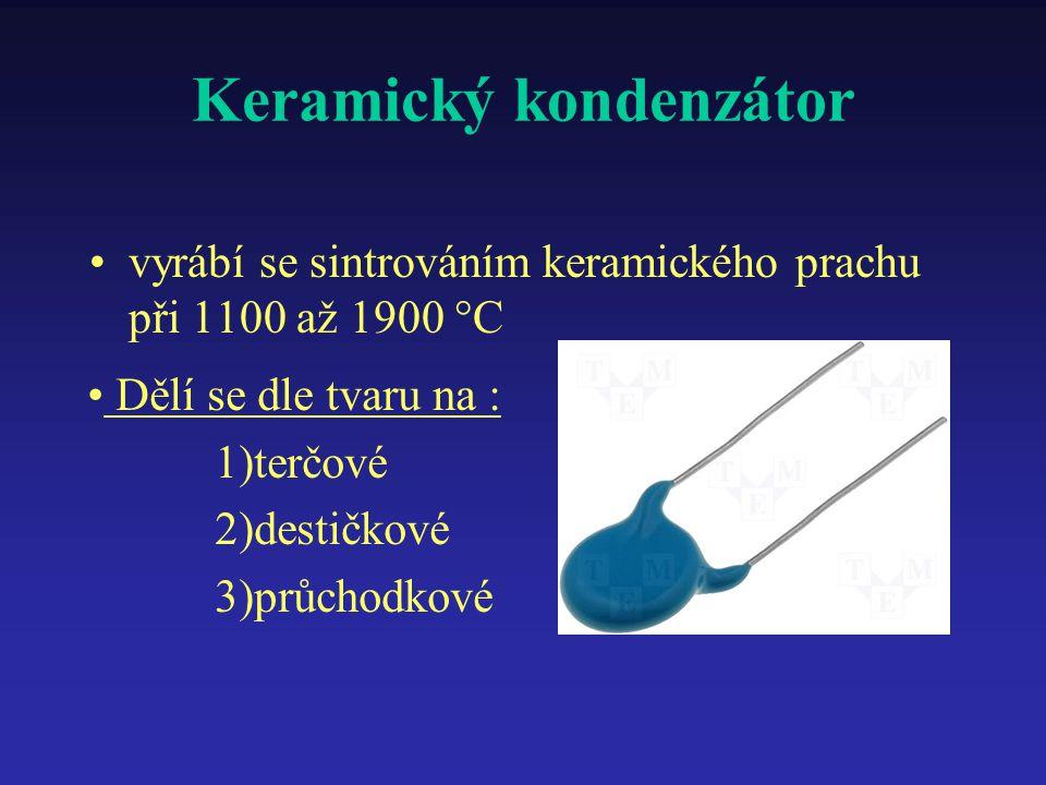Keramický kondenzátor