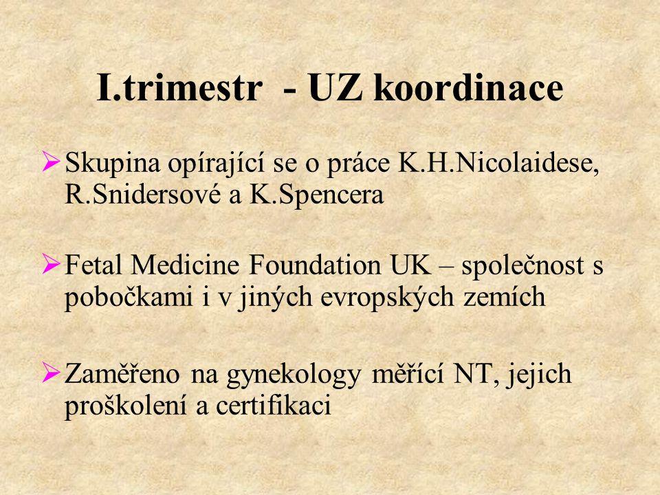 I.trimestr - UZ koordinace