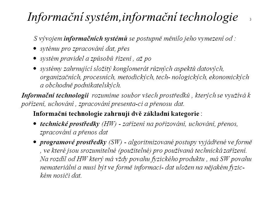 Informační systém,informační technologie 3