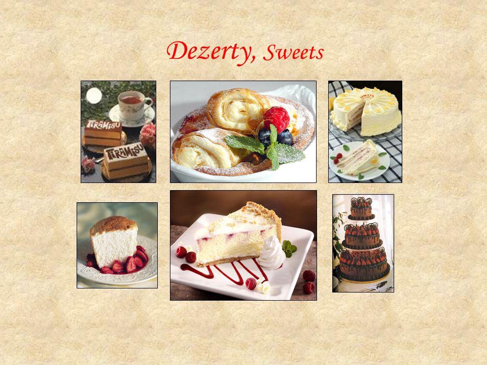 Dezerty, Sweets