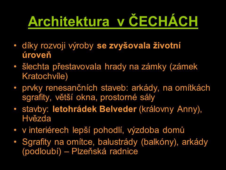 Architektura v ČECHÁCH