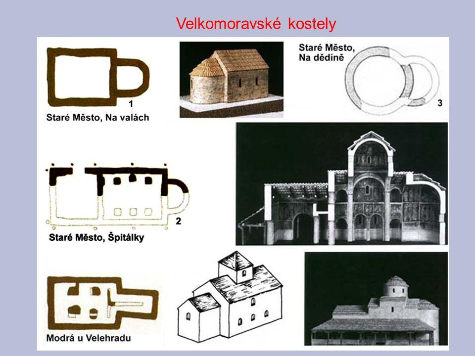 Velkomoravské kostely