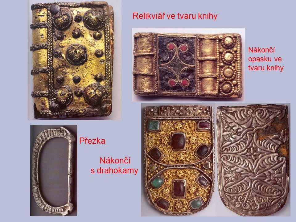 Relikviář ve tvaru knihy