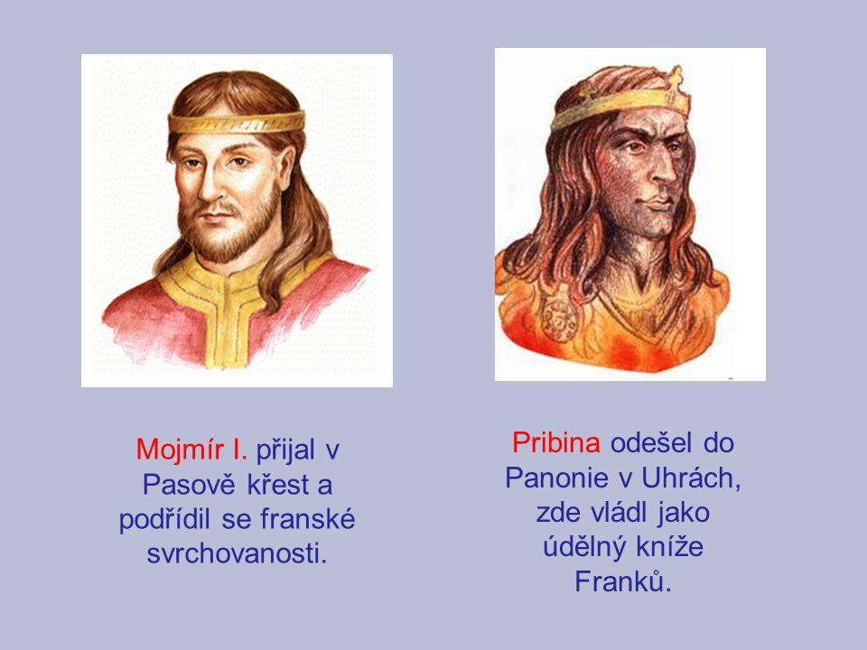 Mojmír I. přijal v Pasově křest a podřídil se franské svrchovanosti.