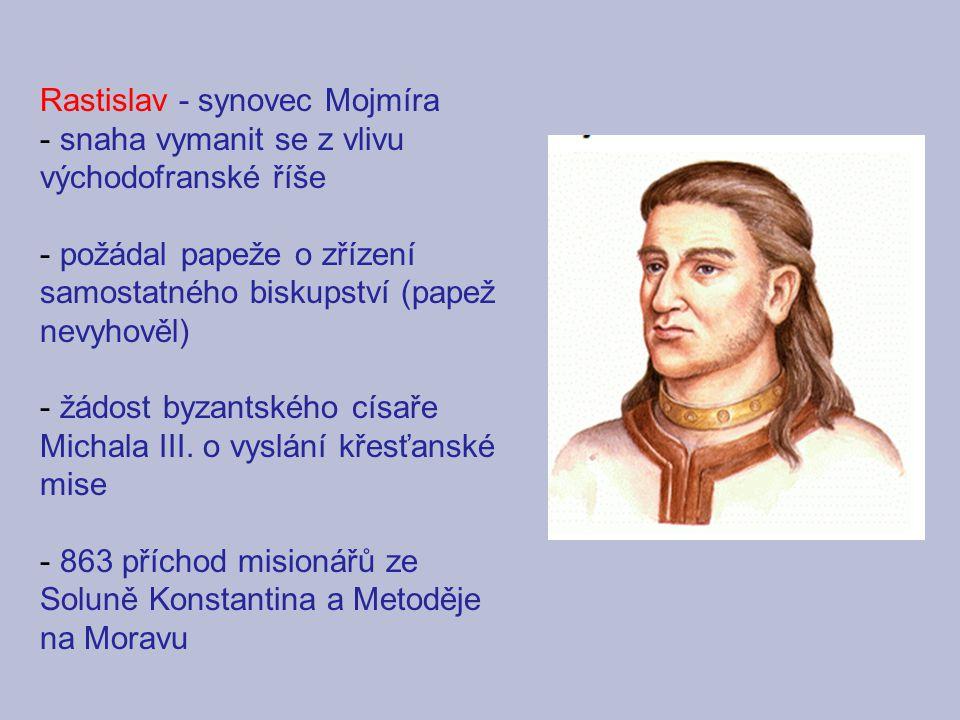 Rastislav - synovec Mojmíra