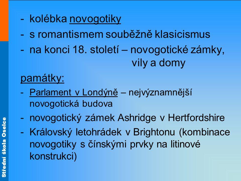 s romantismem souběžně klasicismus