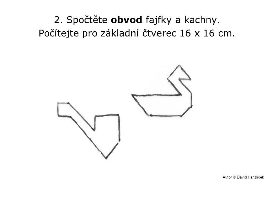 2. Spočtěte obvod fajfky a kachny.