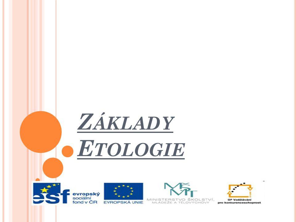 Základy Etologie