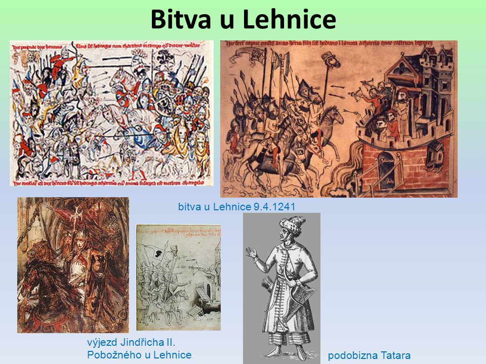 Bitva u Lehnice bitva u Lehnice 9.4.1241