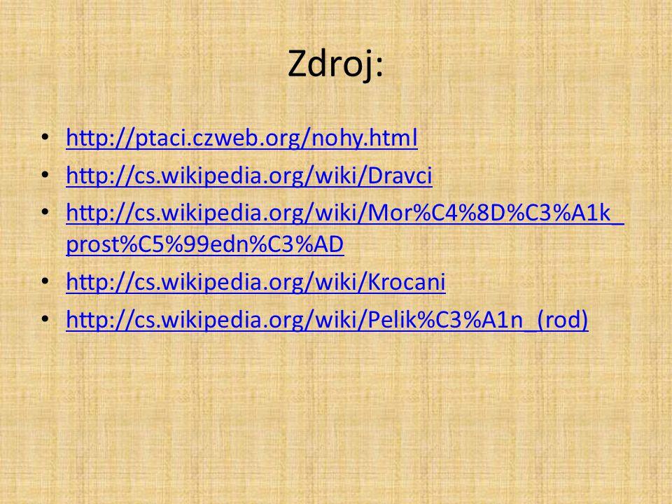 Zdroj: http://ptaci.czweb.org/nohy.html