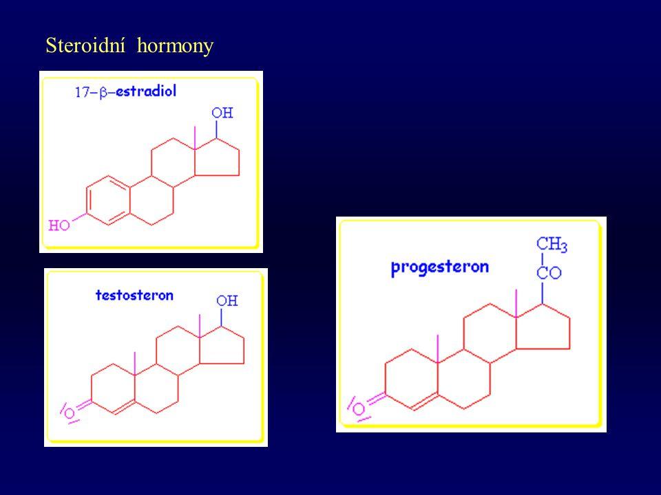 Steroidní hormony pohlavní