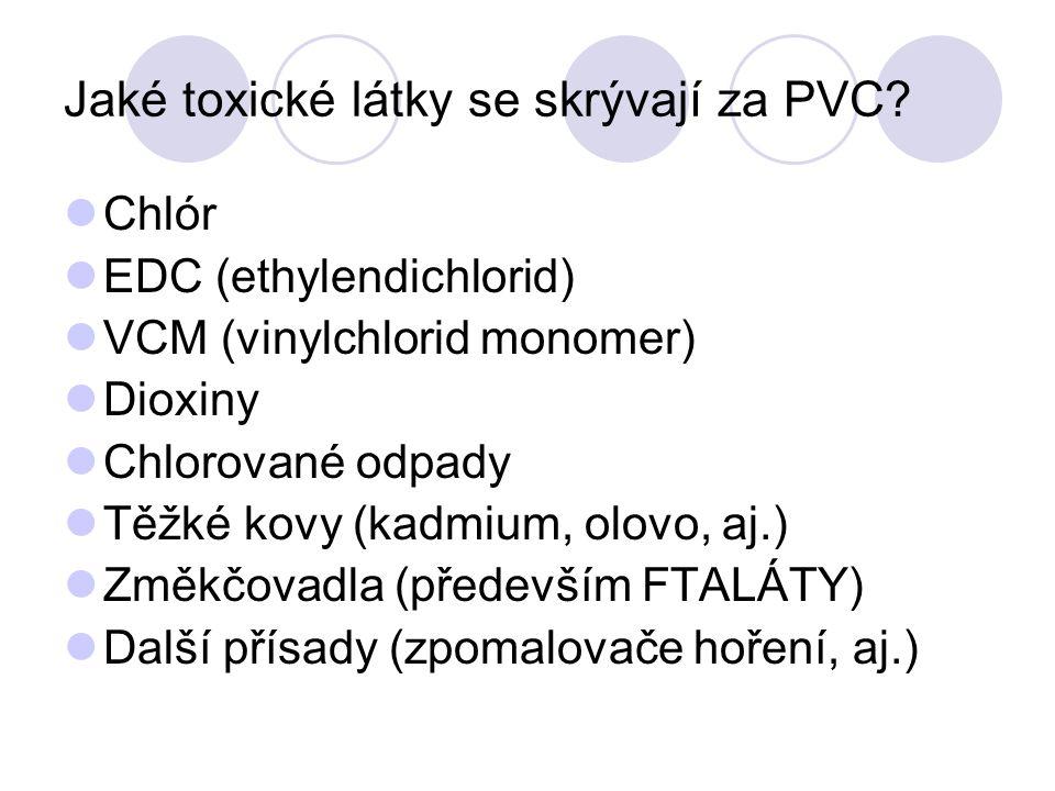 Jaké toxické látky se skrývají za PVC