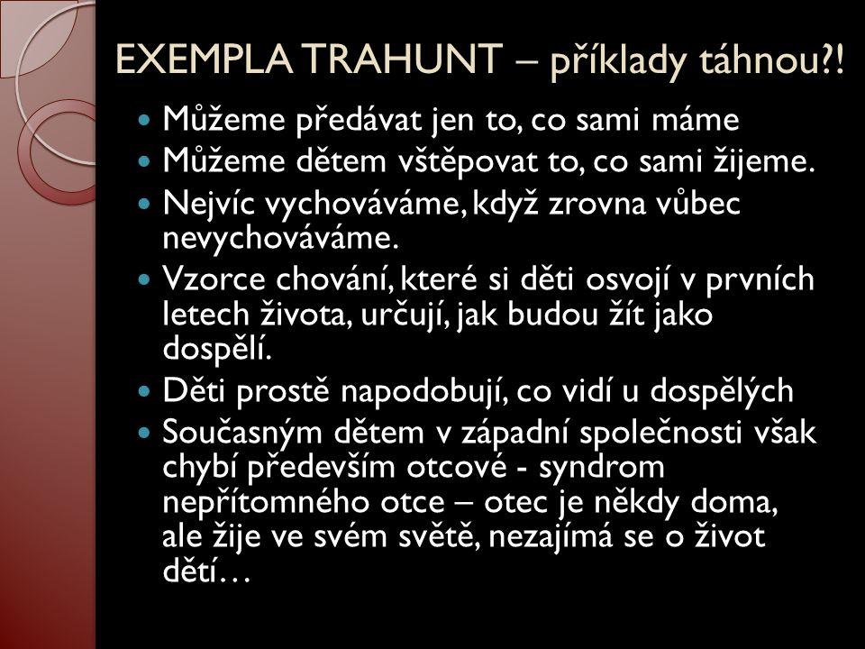 EXEMPLA TRAHUNT – příklady táhnou !