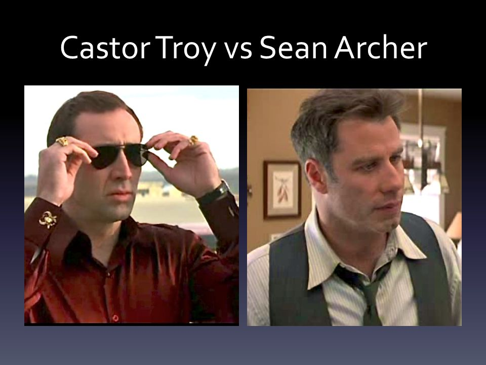 Castor Troy vs Sean Archer