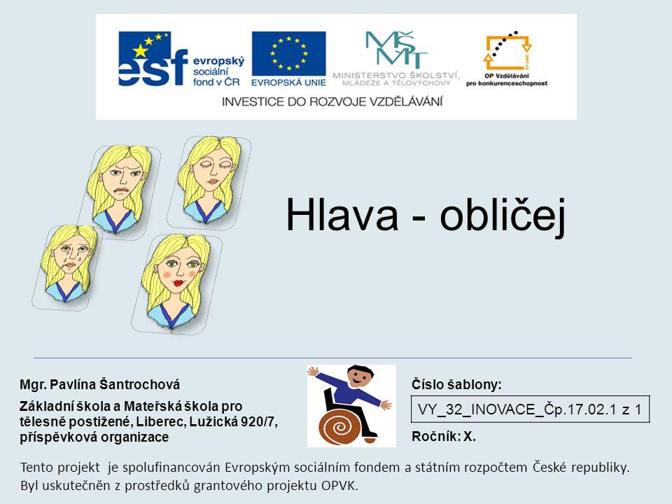 Hlava - obličej VY_32_INOVACE_Čp.17.02.1 z 1
