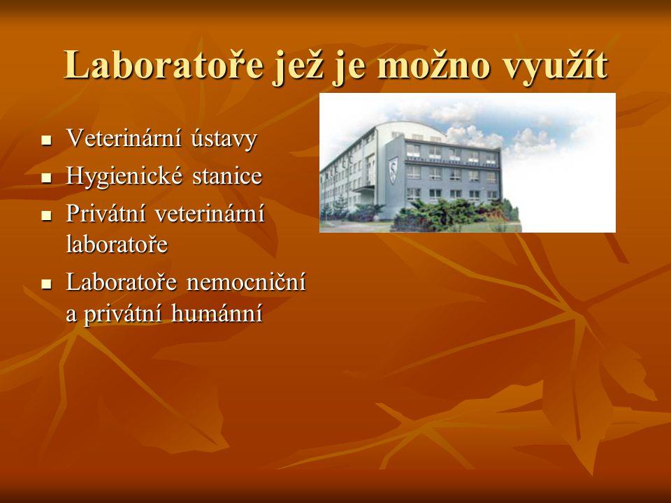 Laboratoře jež je možno využít