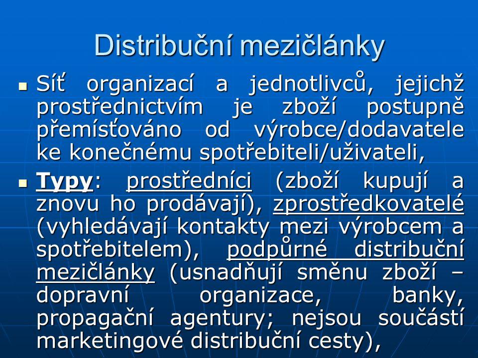 Distribuční mezičlánky